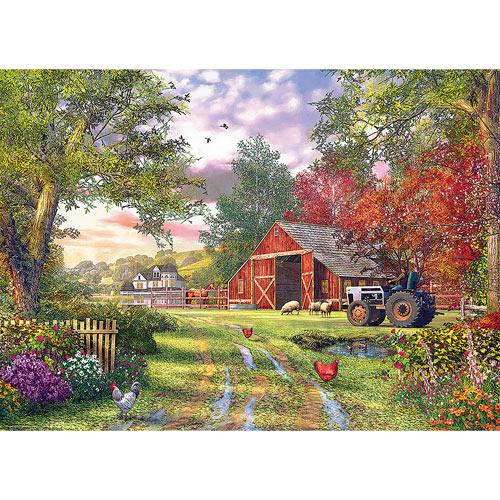 Evening At The Barnyard 1000 Piece Jigsaw Puzzle