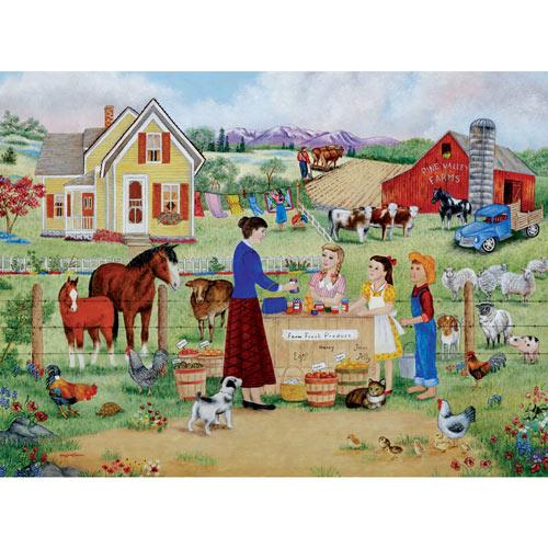 Farm Fresh Produce 1000 Piece Jigsaw Puzzle