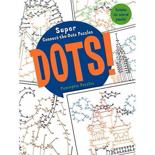 Super Connect The Dots Puzzle Book