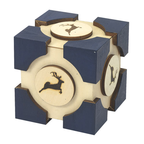 Wooden Companion Puzzle Box