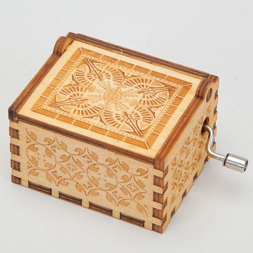 Wooden Music Box - Twinkle Twinkle Little Star
