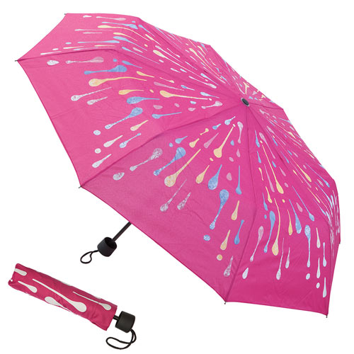 Color Changing Raindrop Umbrella
