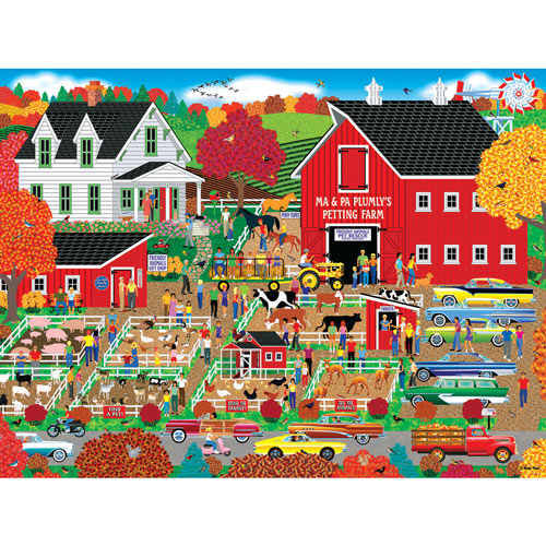 Plumly's Petting Farm 300 Large Piece Jigsaw Puzzle