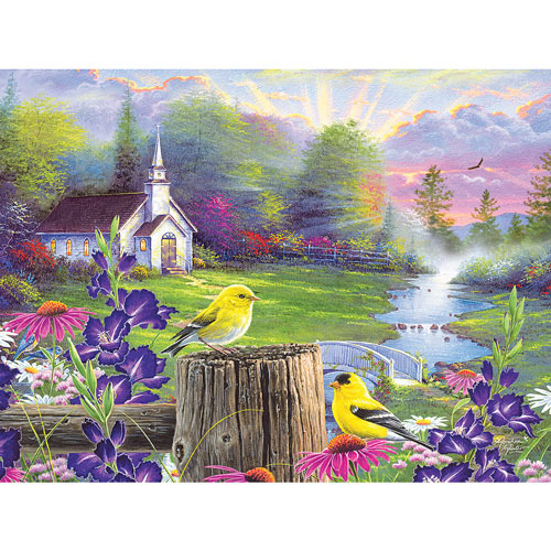 Sunday Morning 300 Large Piece Jigsaw Puzzle
