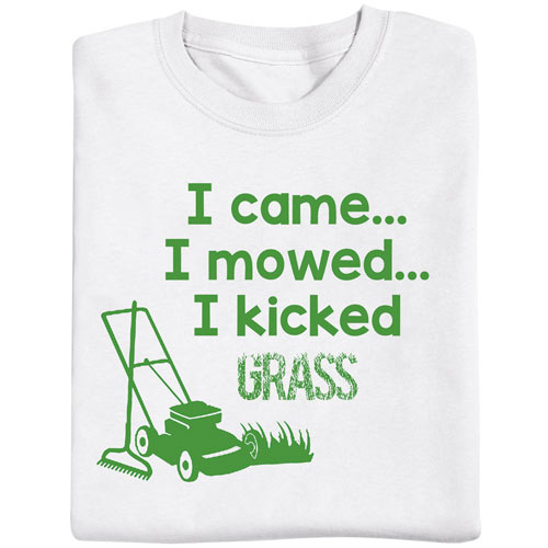 Kicked Grass- Novelty T-shirt
