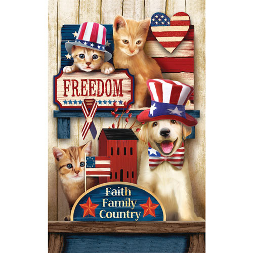 Let Freedom Ring 300 Large Piece Jigsaw Puzzle