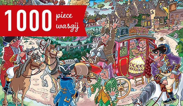 Highway Holdup 1000 Piece Wasgij Puzzle