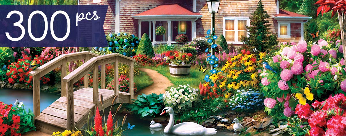 Country Hideaway 300 Large Piece Jigsaw Puzzle