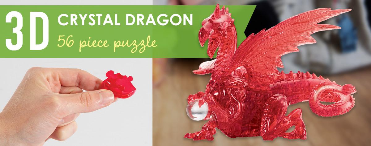 3D Crystal Dragon Puzzle