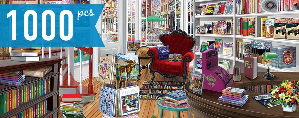 The Bookshop 1000 Piece Jigsaw Puzzle