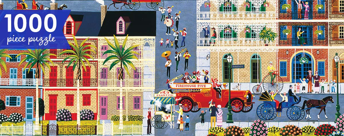 Rampart Street Parade 1000 Piece Jigsaw Puzzle