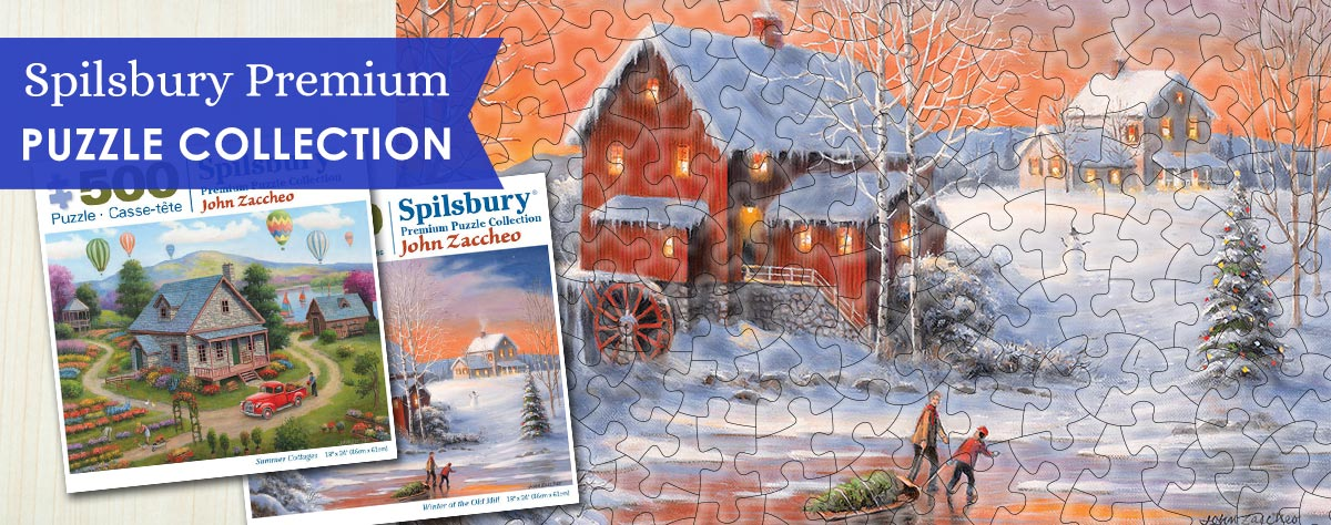 Spilsbury Exclusive Puzzles