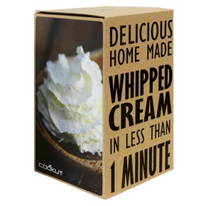 Creazy Homemade Whipped Cream Maker