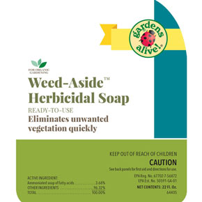 Weed-Aside™ Herbicidal Soap