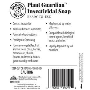 Plant Guardian™ Houseplant Insecticidal Soap RTU