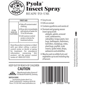 Pyola<sup>®</sup> Insect Spray RTU