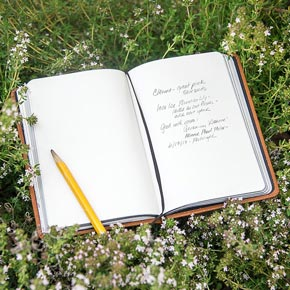 Essential Gardeners' Waterproof Notebook