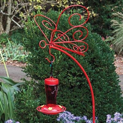 Butterfly Hanger & Perfect Hummingbird Feeder