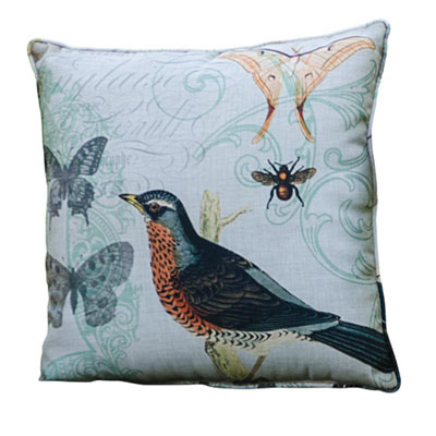 Songbird Robin's Nest Pillow