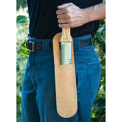 Leather Sheath for Preferred Hori Hori Knife