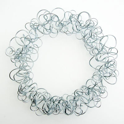 10-Inch Steel Wreath