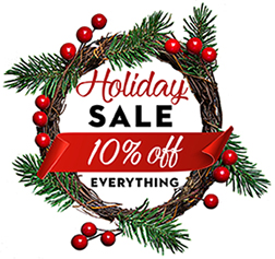 Holiday Sale. Save 10% on Everything