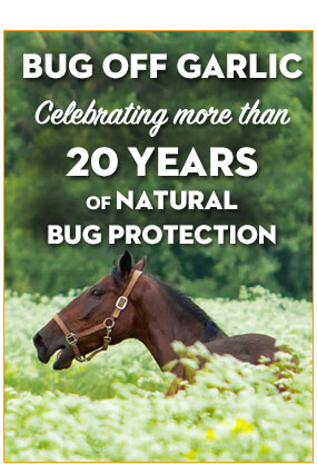 Bug Off Garlic is celebrating more than 20 years of natural bug protection.