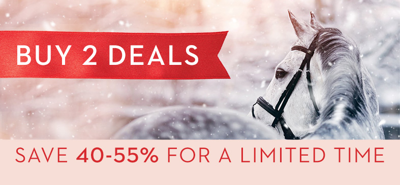 BUY 2 DEALS. SAVE 40-55% FOR A LIMITED TIME