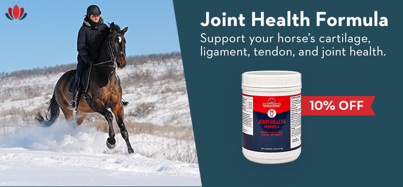 Joint Health Formula. Support your horse's cartilage, ligament, tendon, and joint health.