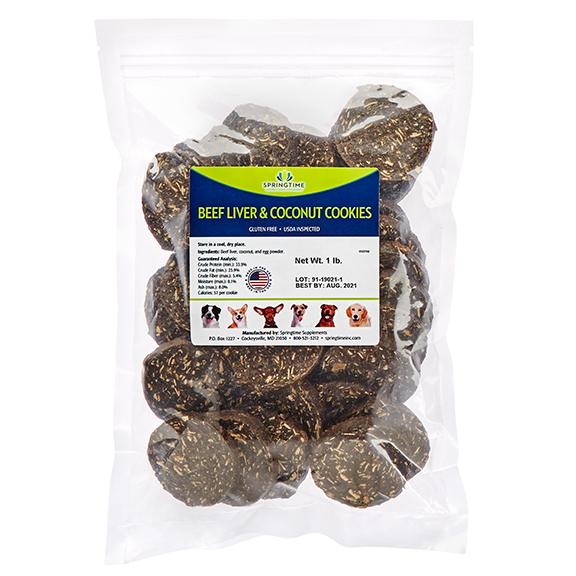 Beef Liver & Coconut Cookies