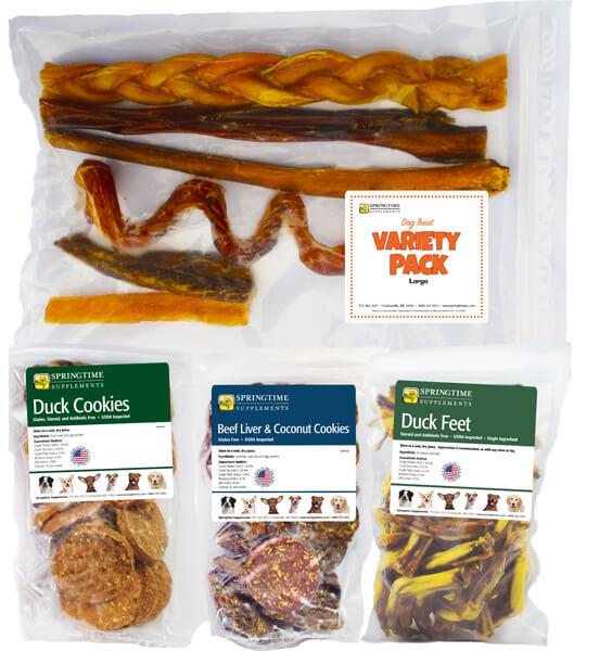 Dog Treat Variety Pack