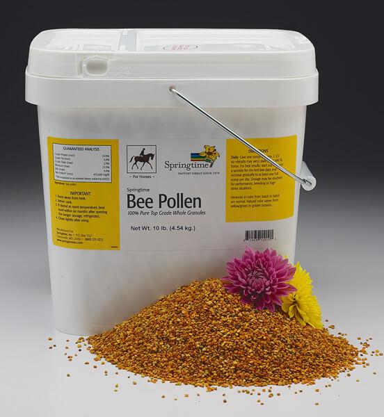 Bee Pollen for Horses