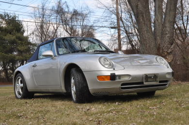 1997 PORSCHE 911-993 CARRERA CABRIOLET - SOLD