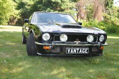 ASTON MARTIN V8 VANTAGE LHD 1978 - Black - SOLD