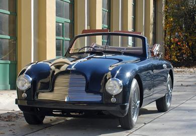 1953 ASTON MARTIN DB2 DHC - SOLD