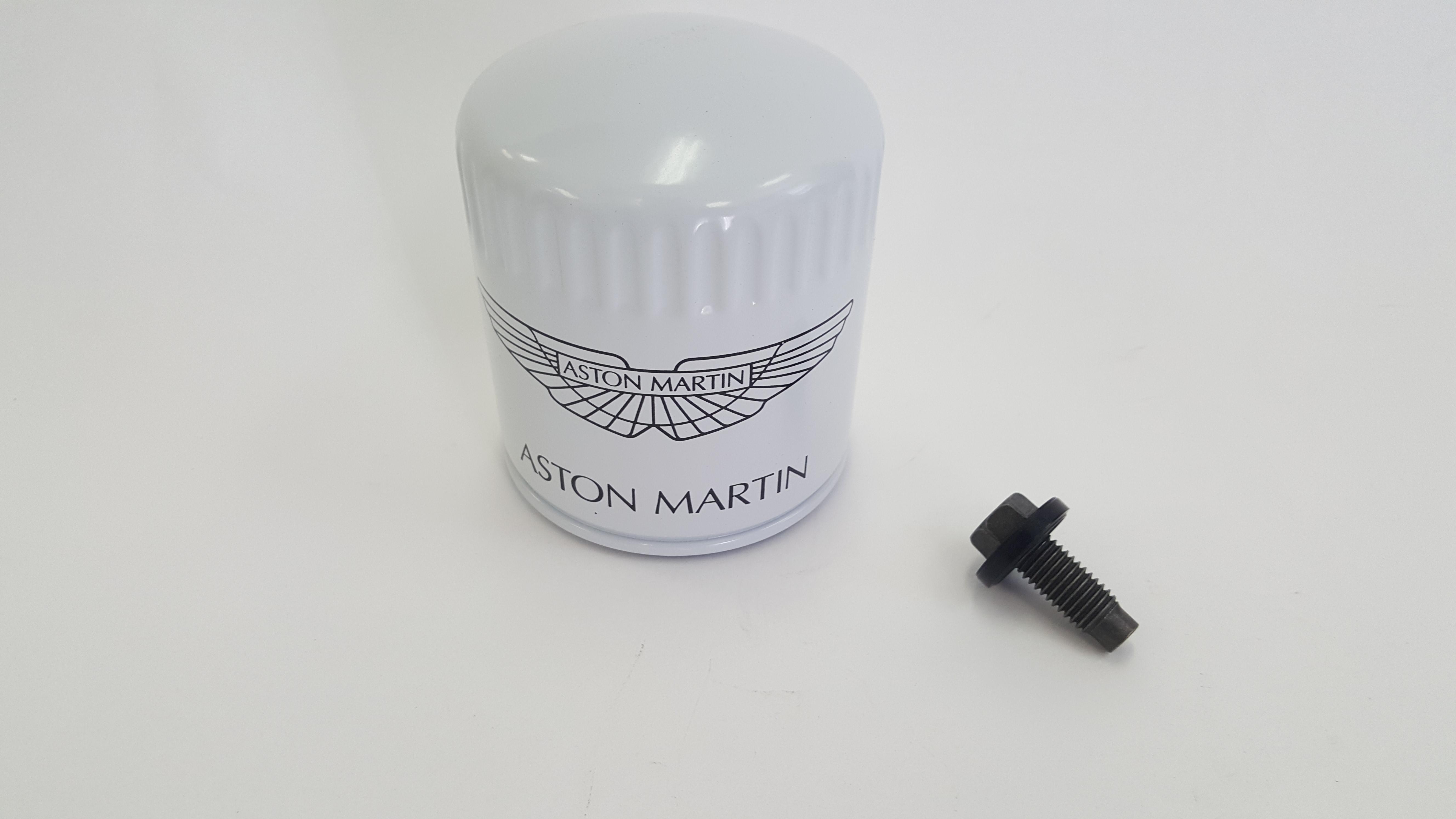 Aston Martin Virage 2011-2012 - V12 Oil Filter Kit (Factory/OEM)
