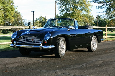 Aston Martin DB5 Convertible 1965 - SOLD