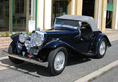 sold - 1938 aston martin 15/98 - sold