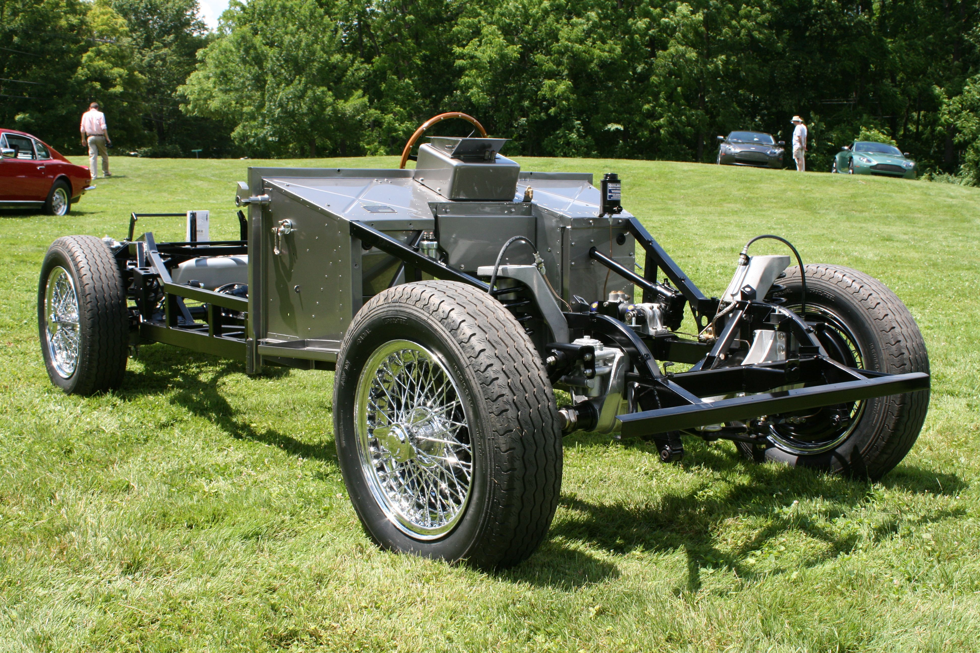 Chassis Frame, Body, Optional Extras