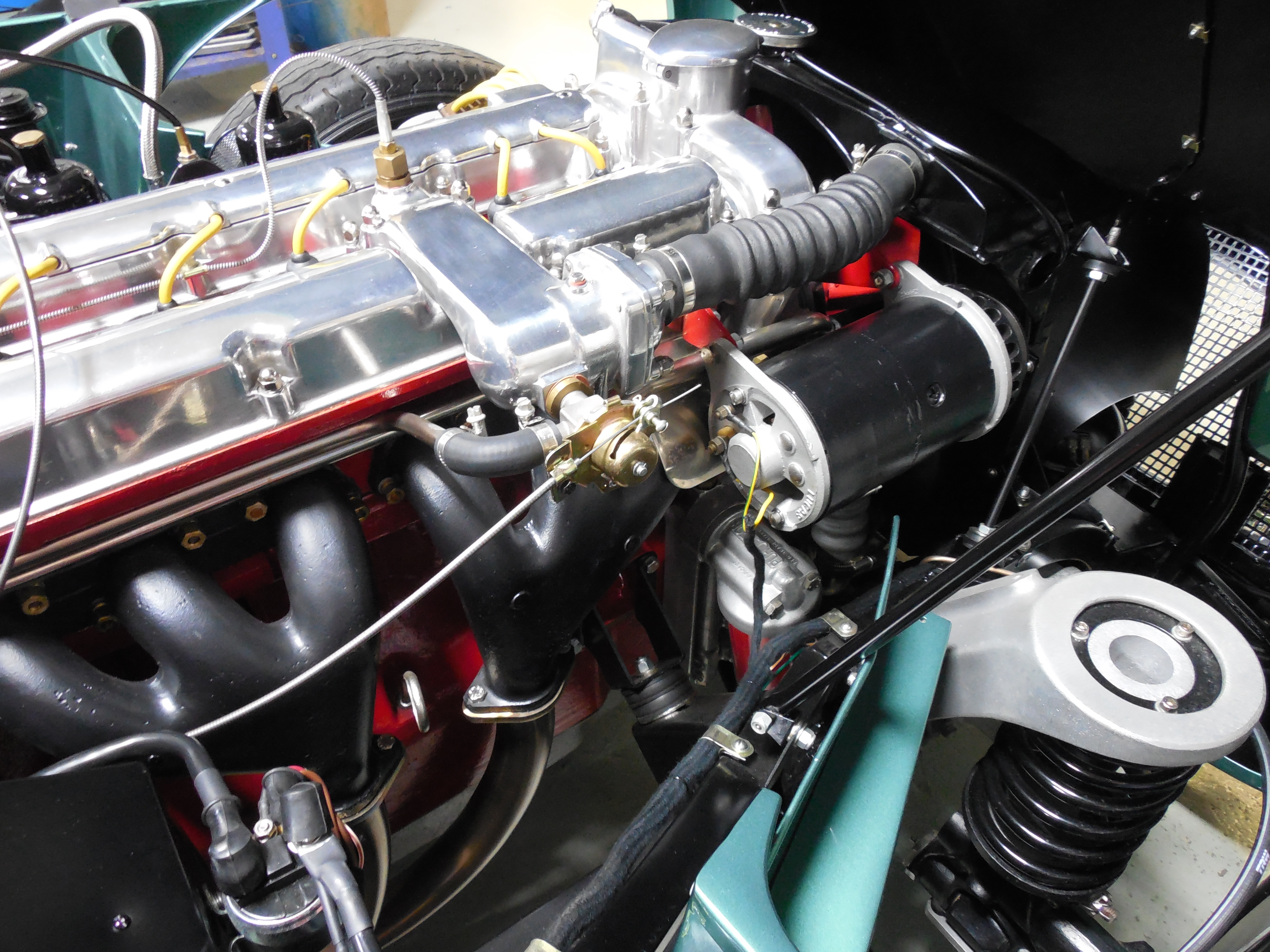 Fuel, Cooling, Exhaust Systems