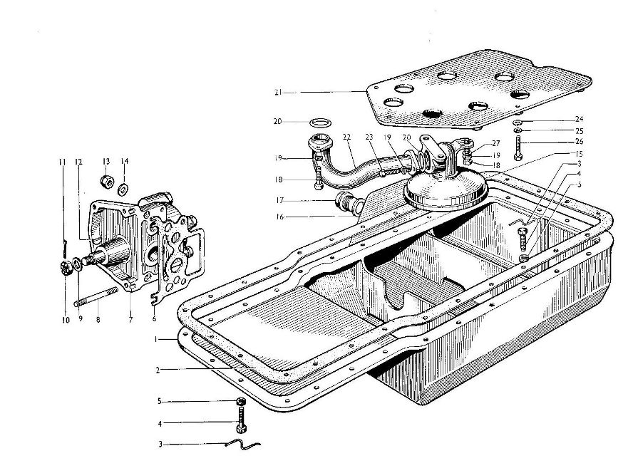 Oil Pump and Sump