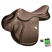 Bates Pony Elevation+ Luxe Jump Saddle