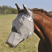 Cashel Crusader Long Nose Fly Mask w/Ears