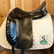 "Amerigo Dressage Saddle-18""-Medium-Black"