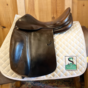 "Spirig Dressage Saddle-17""-Narrow-Brown"