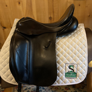 "Barnsby N Gage Dressage Saddle-17.5""-Medium-Black"