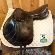 "Stubben Portos Jump Saddle-17.5""-27cm-Brown"