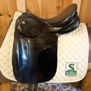"K. Niedersuss Dressage Saddle-16.5""-Wide-Black"