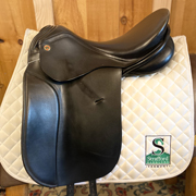 "Niedersuss Dressage Saddle-16.5""-MediumWide-Black"