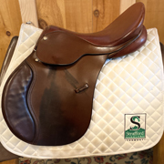 "Berney Brothers All Purpose Saddle-16.5""-Wide-Brown"